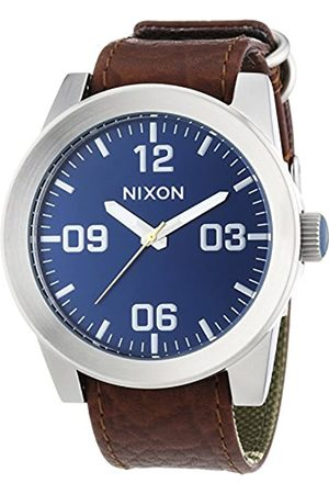 Nixon Men's Analogue Quartz Watch with Leather Strap A2431656
