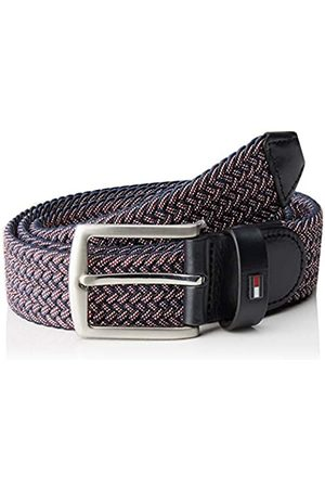 Tommy Hilfiger Men's DENTON TWO TONE ELASTIC 3.5 Belt