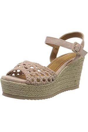 REFRESH Women's 69575.0 Platform Sandals, (Nude Nude)