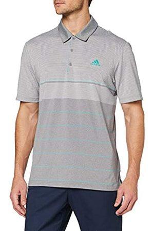 adidas Men's Ultimate 365 Heather Stripe Polo Shirt
