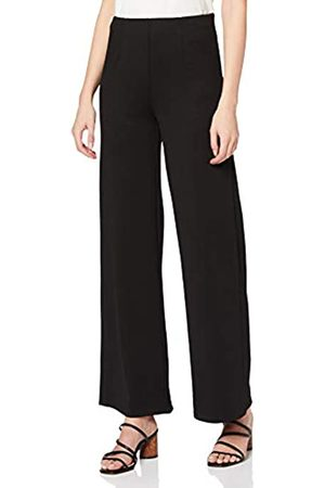 Dorothy Perkins Women's Ponte Wide Leg Trousers Work Utility Pants
