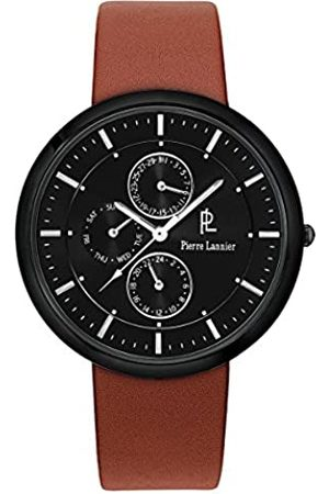 Pierre Lannier Mens Analogue Quartz Watch with Leather Strap 221D434