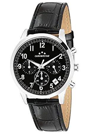 Chronostar Mens Multi dial Quartz Watch with Leather Strap R3751269003