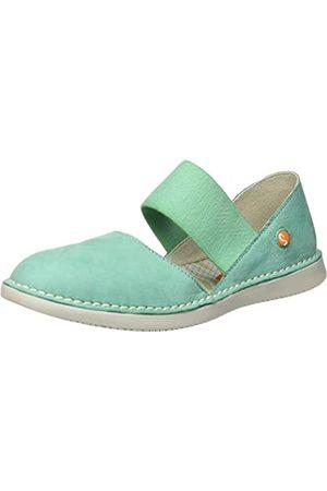softinos Women's Teja576sof Espadrille Wedge Sandal, (Mynt 001)