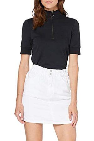 New Look Women's Paperbag Mini Paperbag-Skirt