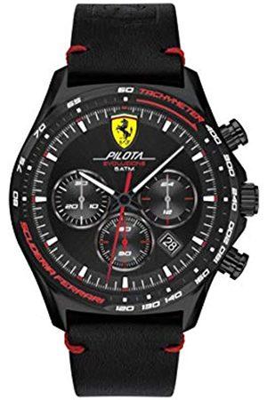 Scuderia Ferrari Men's Analogue Quartz Watch with Leather Strap 0830712