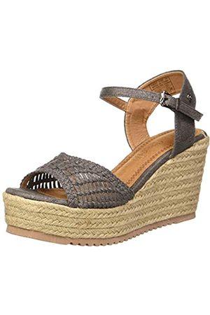 REFRESH Women's 69680 Platform Sandals, (Plomo Plomo)