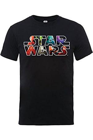Star Wars Men's VII The Force Awakens Heroes and Villians Logo T-Shirt