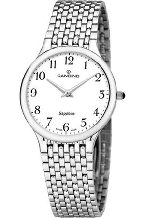 Candino Men's Quartz Watch with Dial Analogue Display and Stainless Steel Bracelet C4362/1