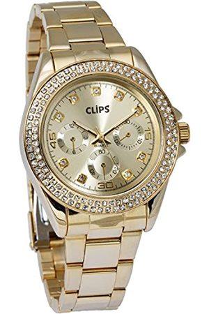 Clips Women's Quartz Watch 554-4024-22 with Metal Strap
