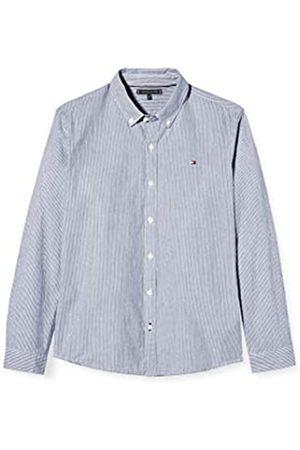 Tommy Hilfiger Boy's Seersucker Stripe Shirt L/S, (Twilight Navy/Multi 0MS)