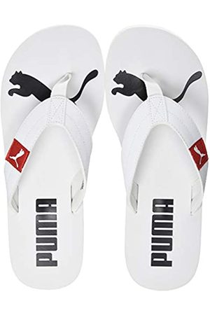 Puma Unisex Adulto Cozy Flip Zapatos de Playa y Piscina, Blanco -High Risk 06