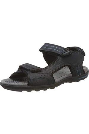 Geox Men's U TEVERE A Open Toe Sandals, (Navy C4002)