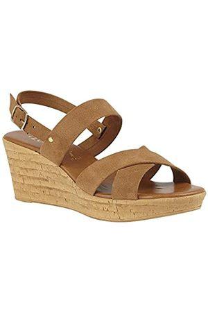 Lotus Women's Angelica Open Toe Sandals, (Tan Lt)
