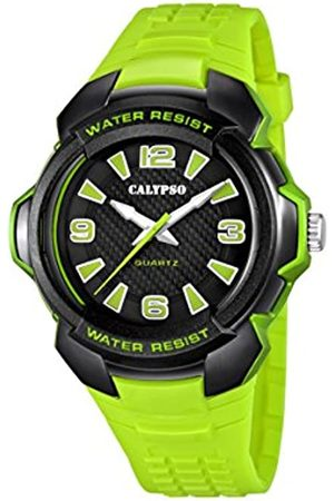 Calypso Unisex Quartz Watch with Dial Analogue Display and Plastic Strap K5635/3