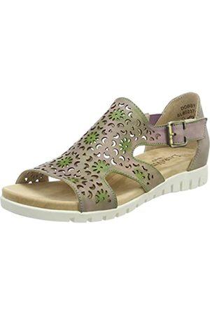 Laura Vita Women Dobby 01 Heels Sandals Size: 8 UK