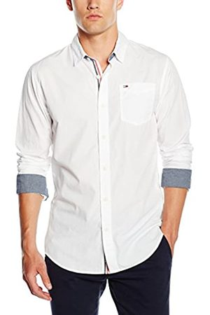 Tommy Hilfiger Men's Original End On End Long Sleeve Classic Casual Shirt