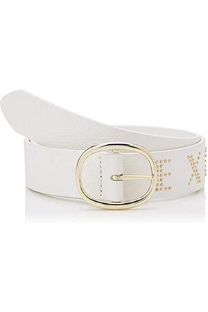 Armani Exchange Women's Studs Belt, (Bianco- 00010)