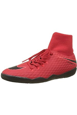 Nike Men's Hypervenomx Phelon 3 Df Ic Football Boots, (University /Bright Crimson/ 616)