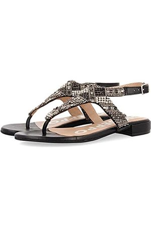 GIOSEPPO Women's Epes Open Toe Sandals, (Negro Negro)
