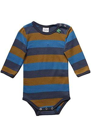 Fred's World by Green Cotton Baby Boys' Multi Stripe Body Shaping Bodysuit