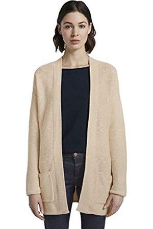 TOM TAILOR Women's Baumwoll Cardigan Sweater