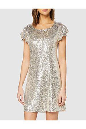 New Look Women's Go Seq Flutter Slv Dress Casual
