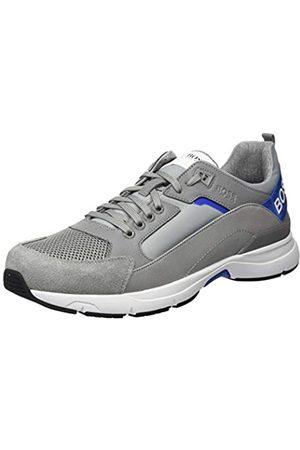 HUGO BOSS Men's Velocity_Runn_rbmx2 Low-Top Sneakers, (Medium 030)