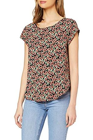 ONLY Women's Onlvic Ss AOP Top Noos WVN T-Shirt
