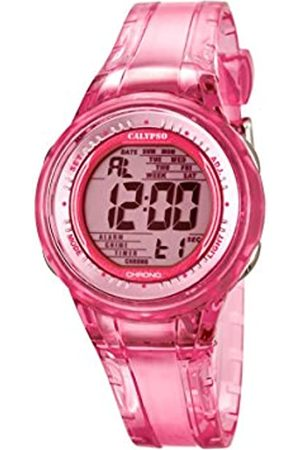 Calypso Women's Digital Watch with Dial Digital Display and Plastic Strap K5688/2