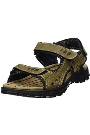 Tom Tailor Men's 8089101 Ankle Strap Sandals, (mud 00021)