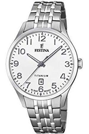 Festina Mens Analogue Quartz Watch with Titanium Strap F20466/1