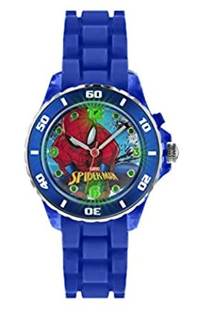 Spiderman Children's Quartz Watch with Dial Analogue Display and Rubber Strap SPD3415