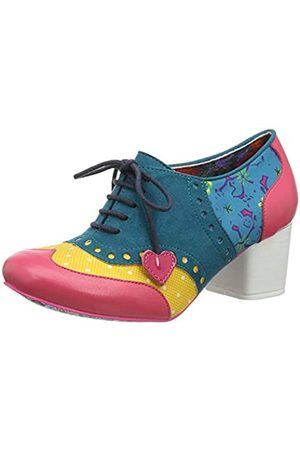 Irregular Choice Women's Clara Bow Brogues, ( Multi P)