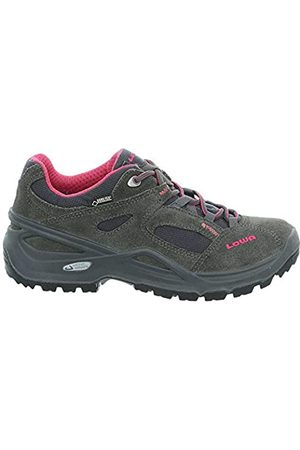 Lowa Women's Sirkos GTX W Low Rise Hiking Shoes, (Anthrazit/Beere 9756)