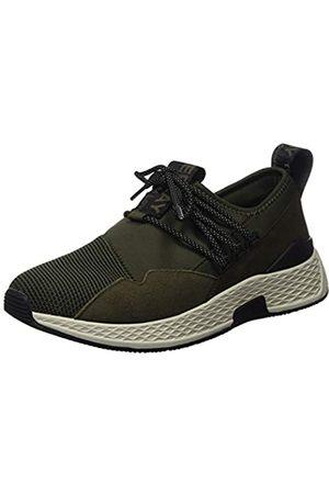 Replay Men's Hybrid-Croker Low-Top Sneakers, (Military Grn 39)