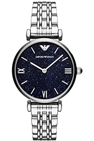 Emporio Armani Women's Analogue Quartz Watch with Stainless Steel Strap AR11091