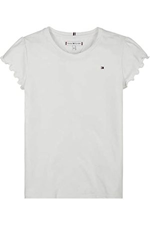 Tommy Hilfiger Girl's Essential Ruffle Sleeve TOP S/S T-Shirt