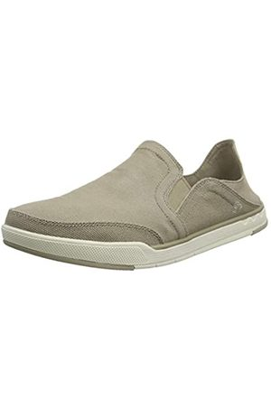 Clarks Men's Step Isle Row Loafers, (Sand Canvas Sand Canvas)