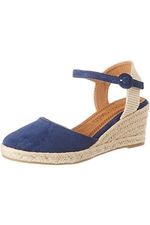 REFRESH Women's 69569.0 Platform Sandals, (Navy Navy)