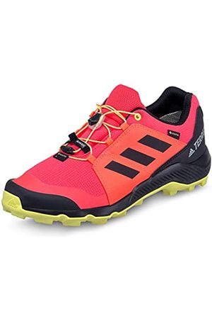 adidas Unisex Kids' Terrex GTX K Trail Running Shoe, Shock /Core / Tint
