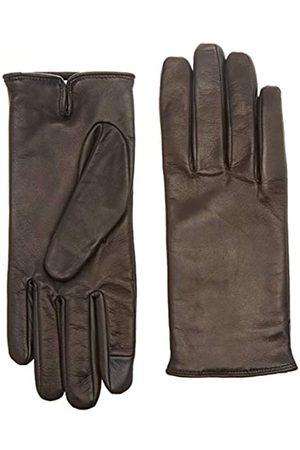 Calvin Klein Women's Deboss Logo Leather Gloves W