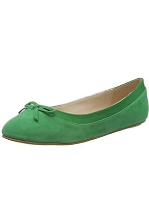 Buffalo Women's ANNELIE Closed Toe Ballet Flats, ( 001)