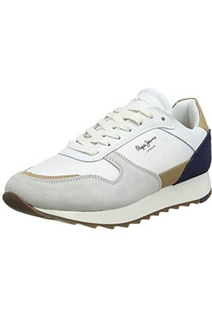 Pepe Jeans Men's Slab Basic Trainers, (Factory 801)