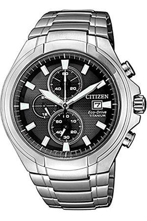 Citizen Mens Analogue Quartz Watch with Titanium Strap CA0700-86E