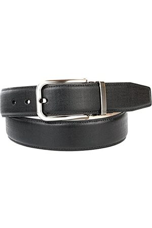 Anthoni Crown Men's 1PD10 Belt, (Schwarz 010)