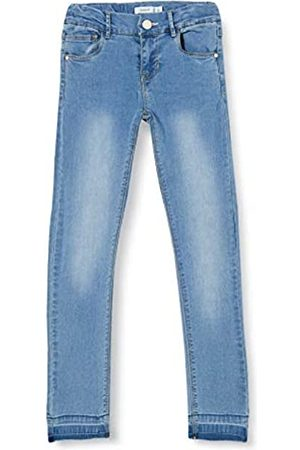 Name it Girl's Nkfpolly Dnmtrilla 1313 Ancle Pant Noos Jeans