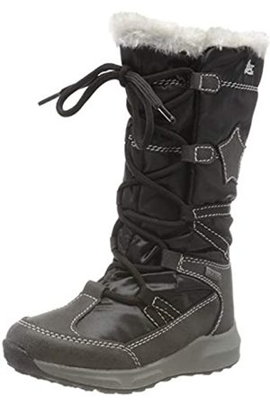Lico Girls' Fernanda Snow Boots, (Schwarz Schwarz)