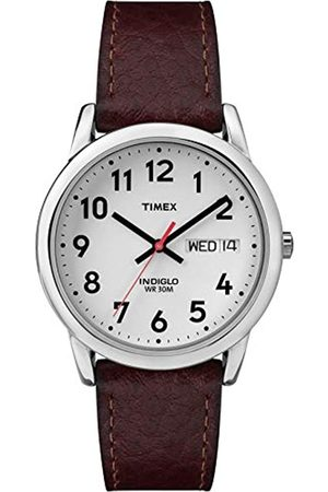 Timex Men's Easy Reader Leather Watch - T20041