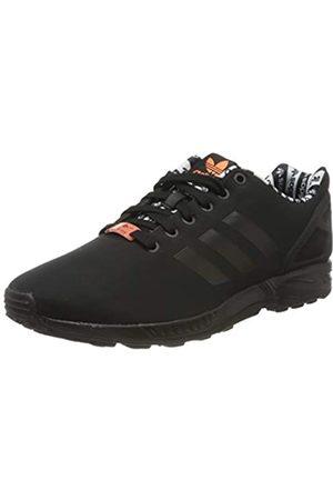 adidas Men's Zx Flux Sneaker, Core /Core /Semi Coral